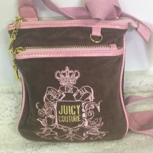 Cute Soft Lite Juicy Couture Crossbody Bag